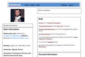 Napolean's Fakebook Profile