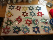 The Star of David.  A symbol of Hanukkah!