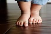 En el futuro yo voy a ensenar a mis hijos como caminar.