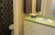 Ample Storage in Bathroom