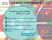Space Odyssey Camp