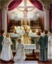 Mary's Corner and First Communion - 4/25