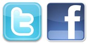 Check Us Out on Facebook and Twitter!