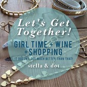 Gather Your Girls For A Wine!