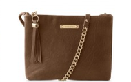 Lafayette Cross Body Bag (available in Dove or Black)