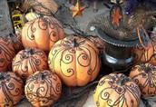 Book Character Pumpkin Decorating!