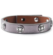 Clover Single Wrap Bracelet - Metallic