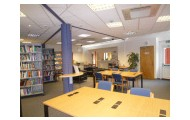 Our new library space.
