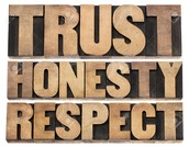 Trusting, honesty and respecting builds up a healthy relationship