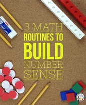 Math Routines That Build Number Sense