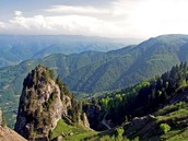 The Pontic mountains