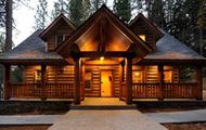 log home builders Alberta