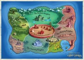 Map of the land of stories