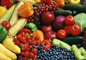 Los vegetales y Las fruitas