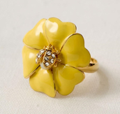 Bloom Flower Ring $15 was $39