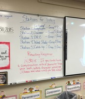 Mrs. Sonia Carbajal's  Classroom- Literacy Workstations