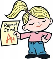 Report cards went home today!!