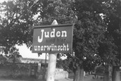 'Jews are here undesirable'