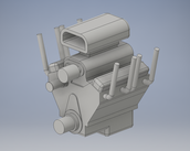 This is the finished part in inventor