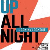 September 16th/17th, VSM Up All Night