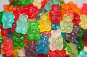 Anyone that knows me well enough knows that gummy bears are my all time favorite candy.