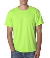 Neon Green - Short Sleeve (Black Ink) $8.00