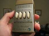 First TV remote