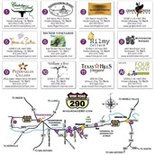 Winery Tour Map