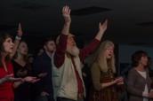 Worship through body posture