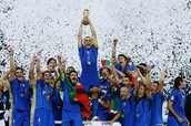 Italy win the 2006 World Cup against France