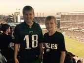 Eagles pre-season game against the Ravens