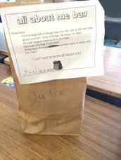 All About Me...Sharing in Mrs. St. Jean's Third Grade