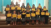 All School Awards for Joy in April