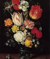 Lilies, Marigolds, Roses, Foxglove, Narcissus