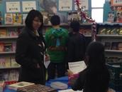 Book Fair Shopping