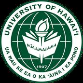 # 2 University of Hawaii at Manoa