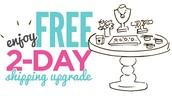 Free 2-Day shipping upgrade!