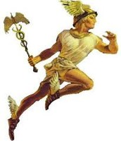 Mercury is named for the Roman messenger to the gods