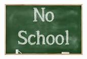 No School Tomorrow May 6th