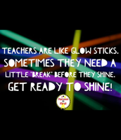 Be that glow stick today!
