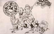 Bolshevik Revolution cartoon