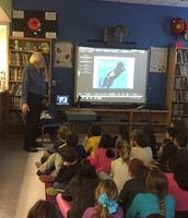 Author visit from Laurence Pringle