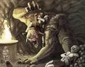 Beowulf vs Grendel's mother