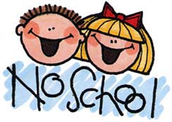 Monday & Tuesday, Feb. 2 & 3 - NO SCHOOL - Staff Development