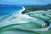 The Shining Blue Sea