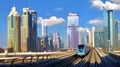 Dubai train line