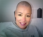 Jayne Snell Patient with Lymphoma