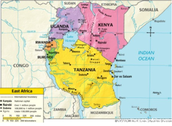 This is where Swahili is mostly spoken