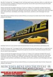 South florida auto sales
