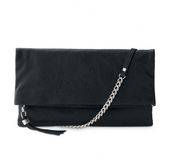 LUXURIOUS Waverly Leather 3 way Bag - Black (brown also available)